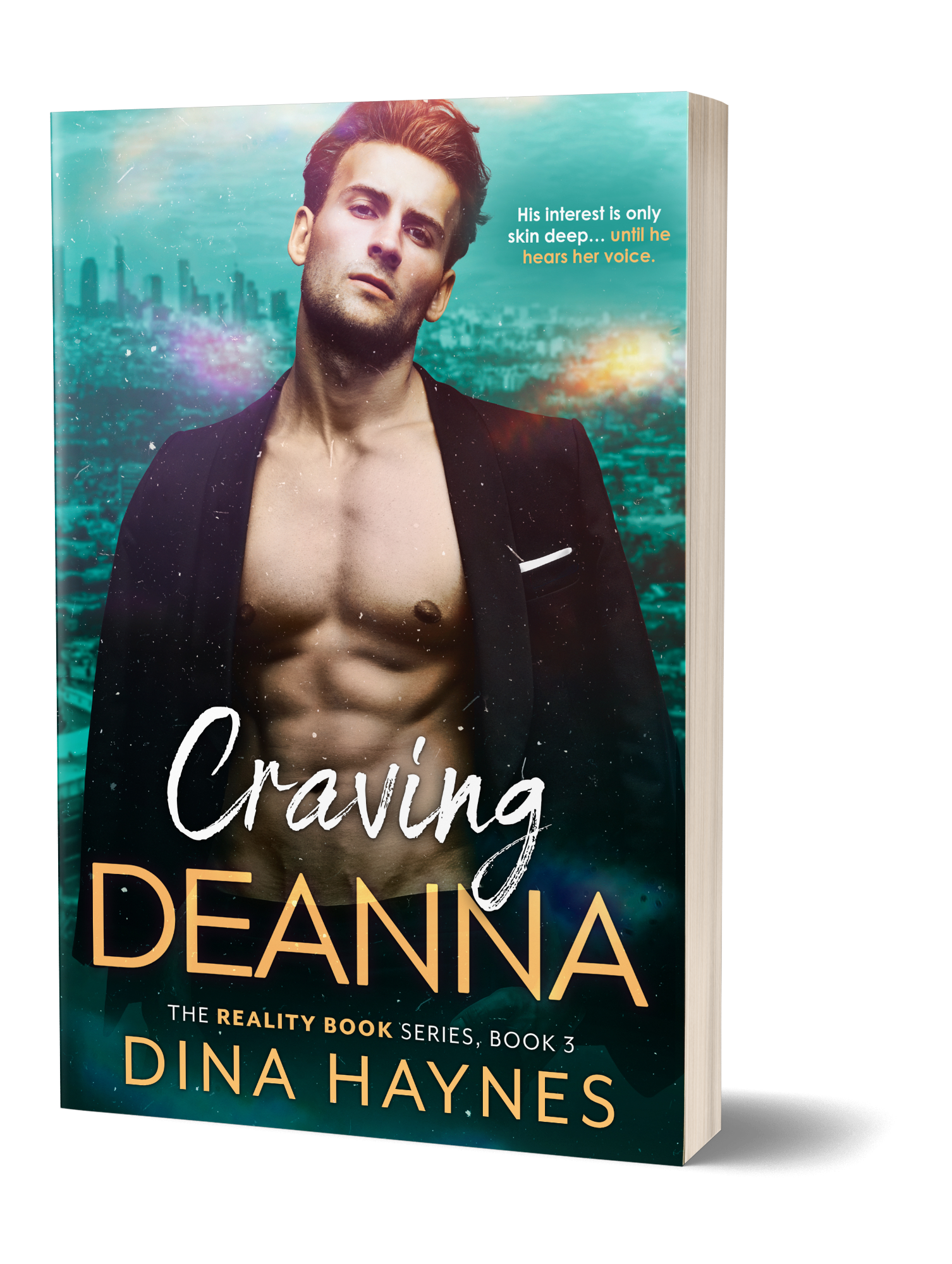 She's having more fun than she bargained for. His interest is only skin deep… until he hears her real voice.